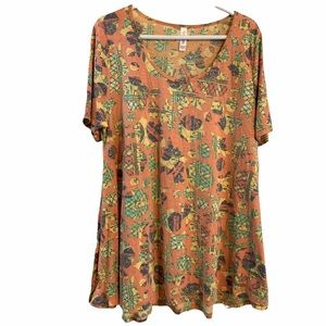 LuLaRoe Perfect T Tee XL Tunic Top T-shirt Tshirt Blouse